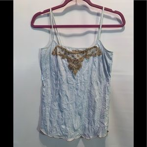 Free People Camisole Silk Like Top